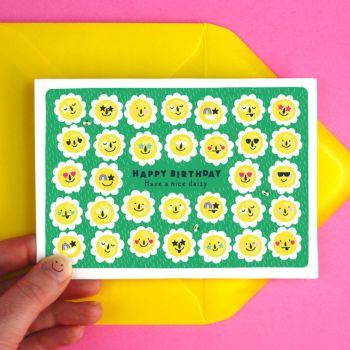 Daisy Nice Day Greeting Card