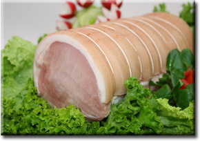 Loin of Pork-Boned & Rolled