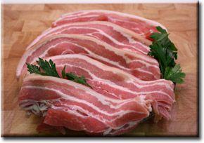 Streaky Bacon ( Green )