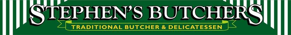 Stephens Traditional Butchers, site logo.