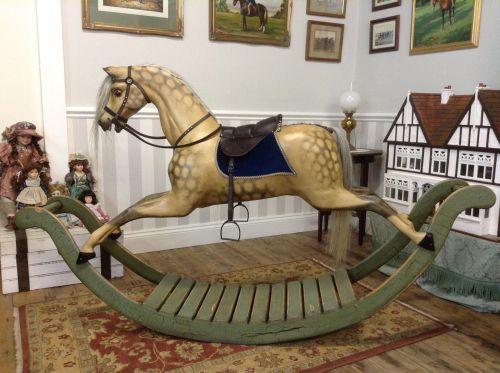 GEORGE - BOW ROCKING HORSE D.VINE REPAINT1
