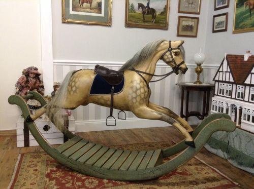 GEORGE - BOW ROCKING HORSE D.VINE REPAINT2