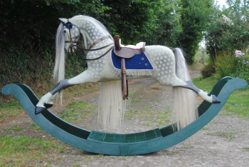 PAUL LEACH ROCKING HORSE H1