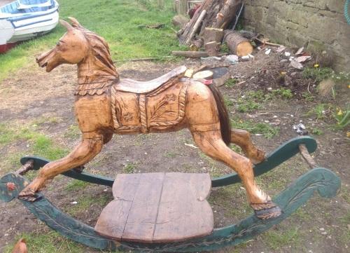 Tom Newstead Rocking Horse