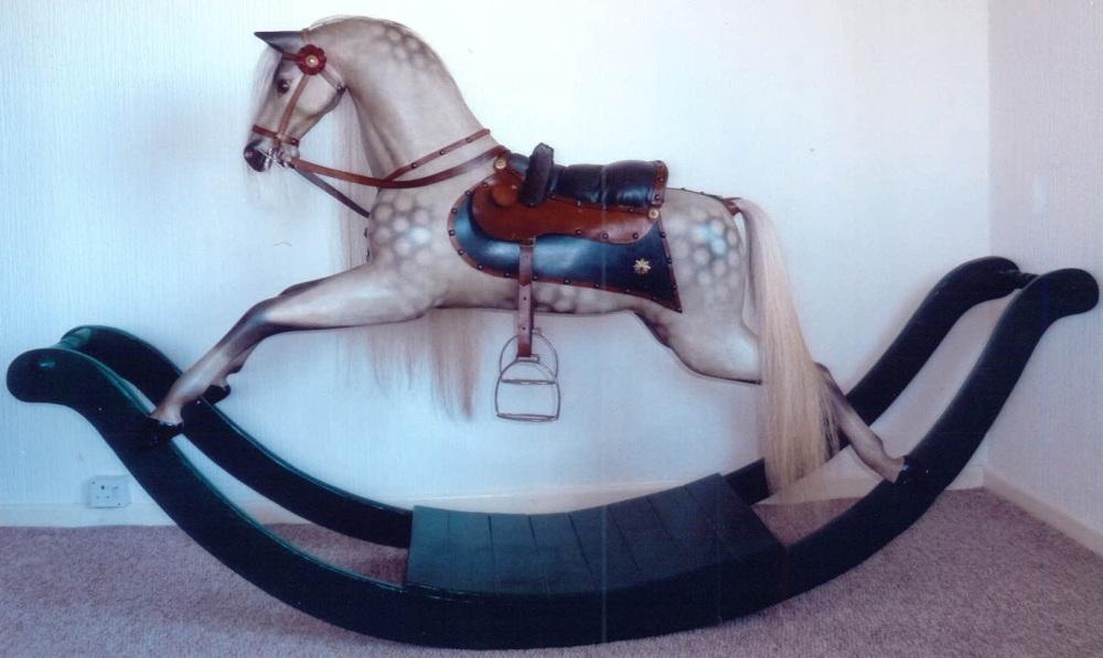 Antique Bow Rocker Restored John & Dorothy Woods1