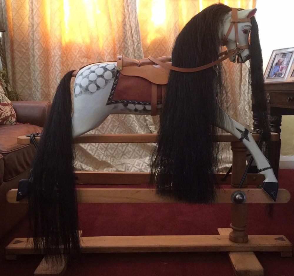 Triang 1930s Rocking Horse 37in