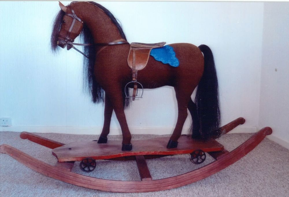 Plush German Horse Approx 1920s Ex-Condition