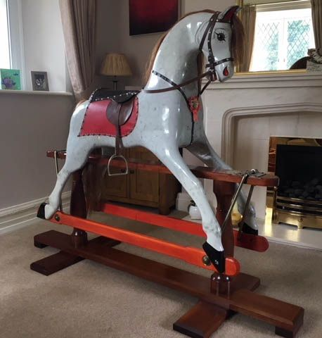 Rocking Horse Hand Crafted Backhouse Large