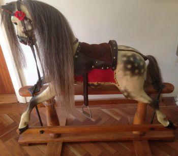Lines Rocking Horse (Tom Cobley Restore)