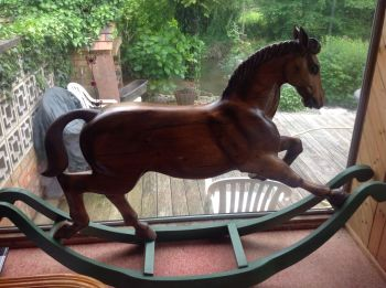 Shotgun Paddy Trevor Wiffen Bow Rocking Horse