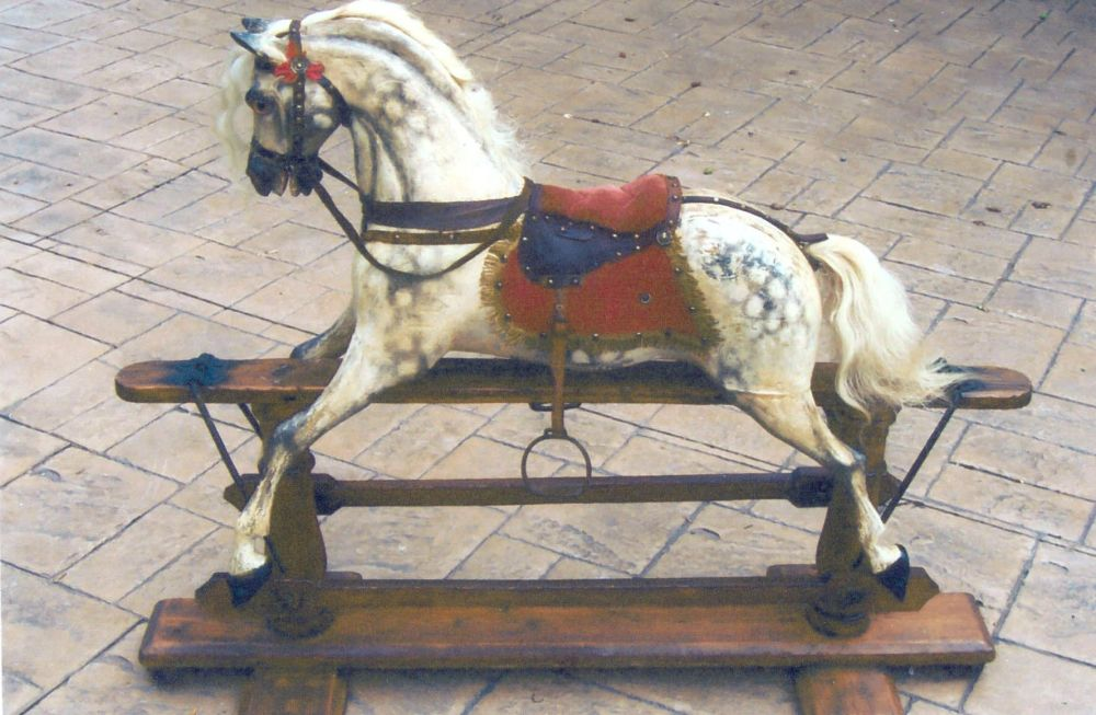 Ayres Swivel Head Rocking Horse Rarely Seen
