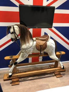 Margaret Spencer 48in Rocking Horse Removable Tack