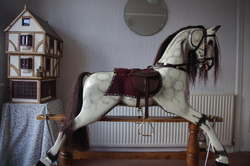 New Dapple Rocking Horse Rosie