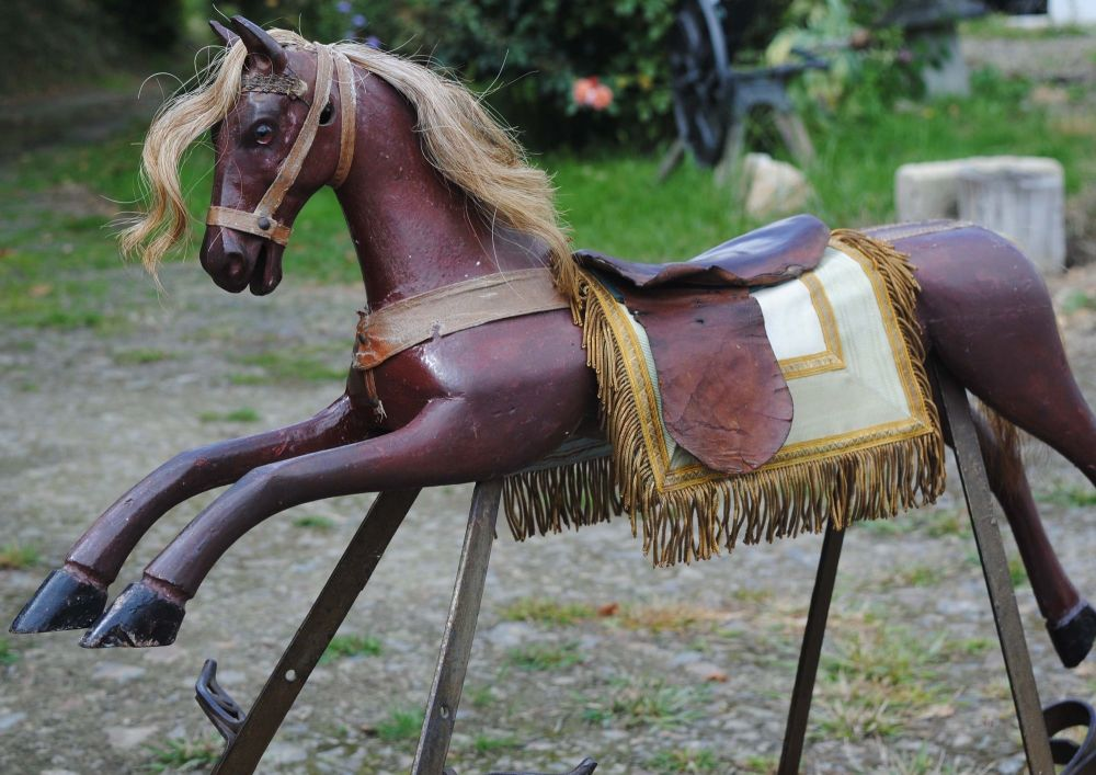 Versace French Combination Rocker/Push Horse