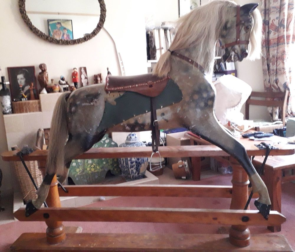 FH Ayres 52in Greylag Original Approx 1900 Horse