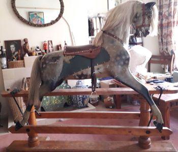 FH Ayres 52in Greylag Original Approx 1900 Horse