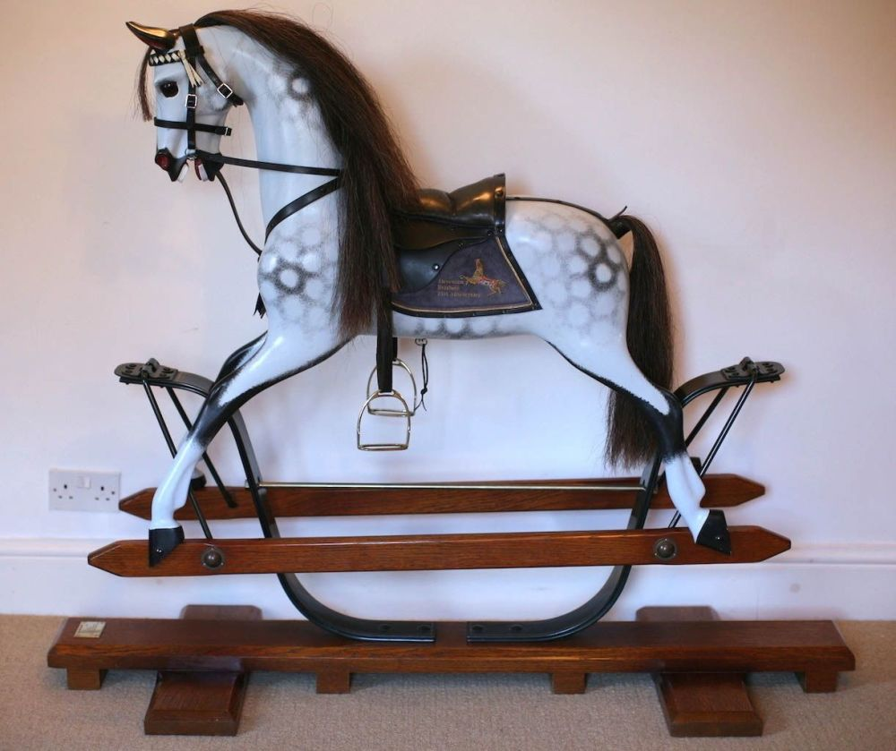 Stevenson LE 21st Anniversary Spring Stand Rocking Horse