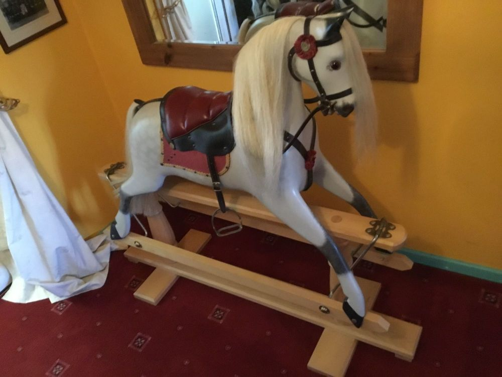Ringinglow - Rivelin No.1 Rocking Horse Fixed Saddle