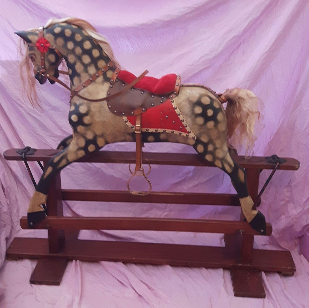 Collinson Rocking Horse Fully Restored 39in