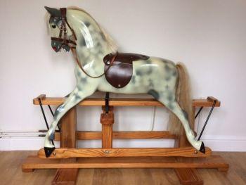 Sampson Haddon Rocking Horse Pony 80s + Step Original Paint