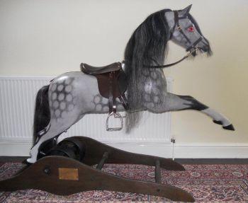 Ragamuffin Spring Rocking Horse