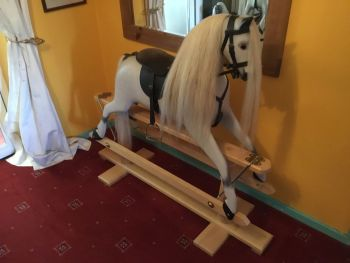 Ringinglow - Rivelin No.1a Rocking Horse Removable Saddle/Tack