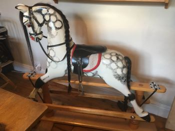 Hand Made 49in Rocking Horse (Bethan) Child Ready