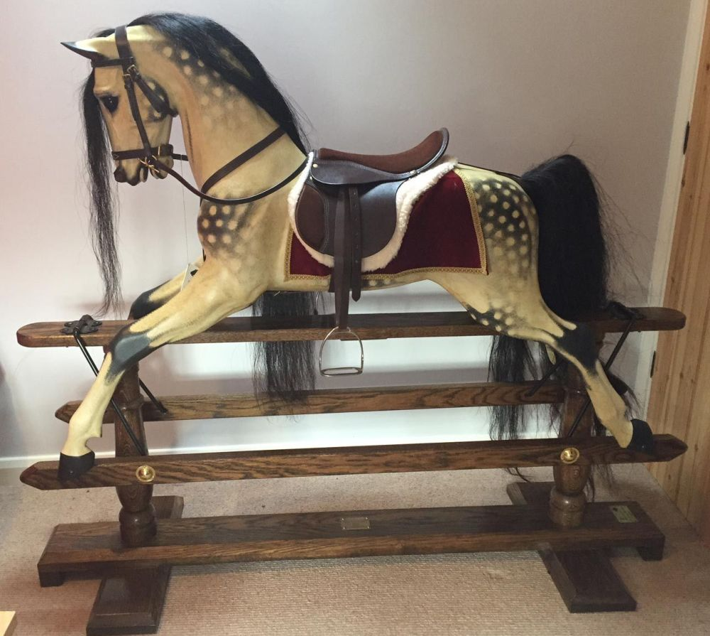 Legends Rocking Horse XL Oatmeal Merrylegs
