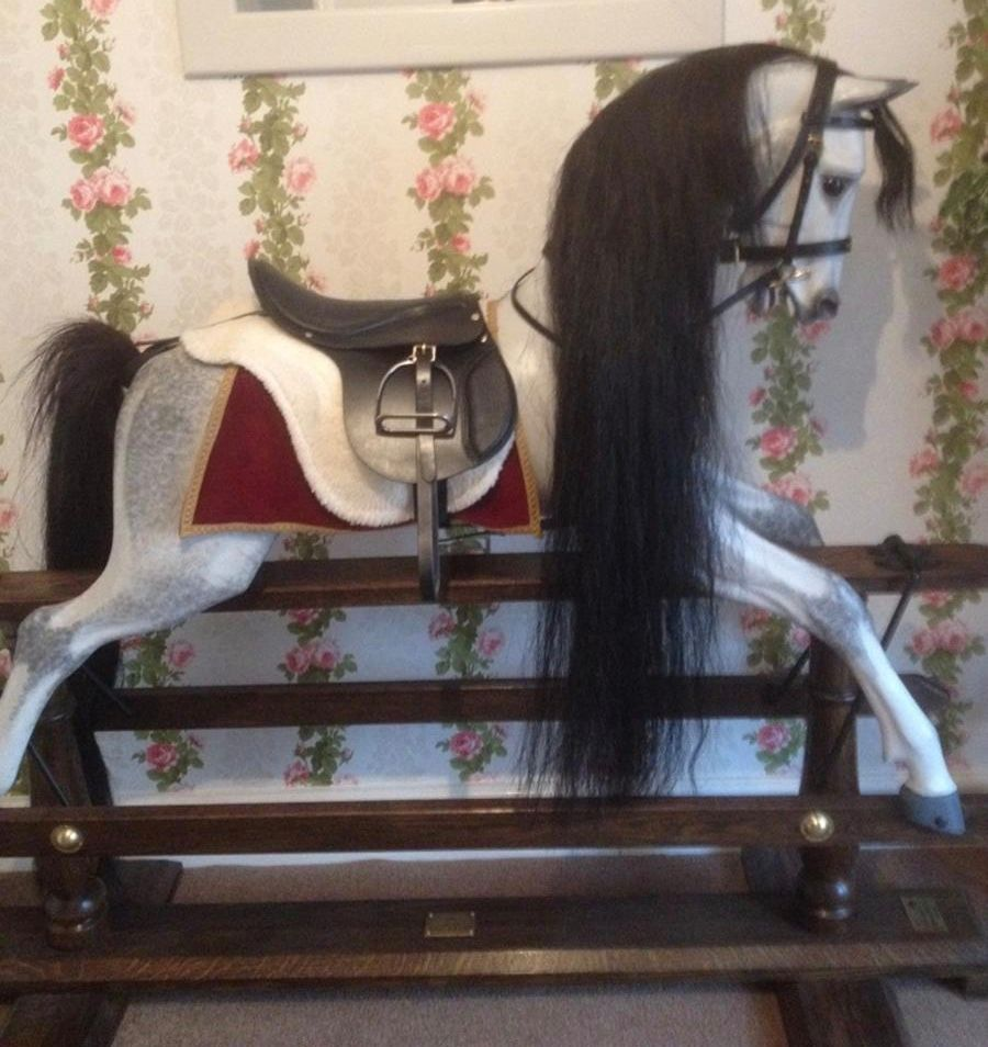 Legends Rocking Horse New Saddle/Tack