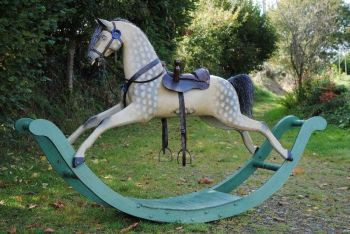 Antique Georgian Bow Rocking Horse