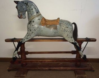 FH Ayres Early Ex Carved for Restoration