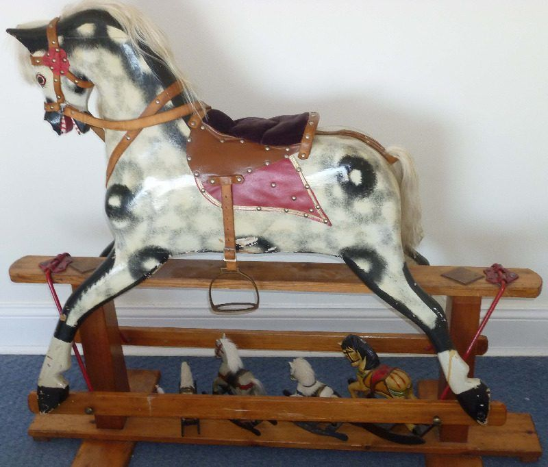 Collinson Rocking Horse 46in (Rose)