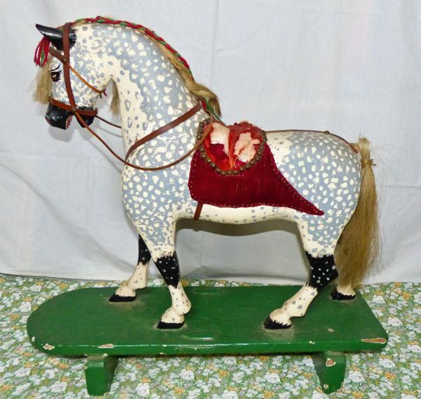 Antique Push Horse