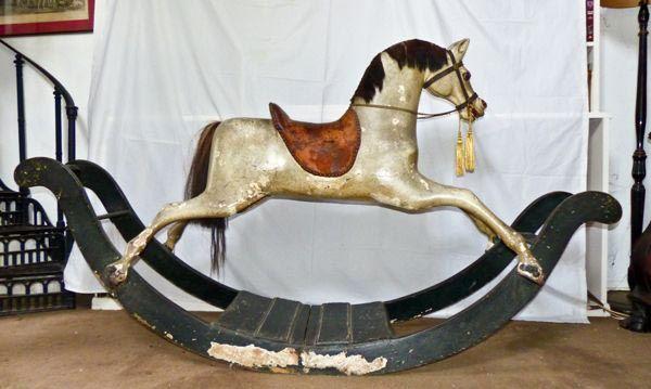 Georgian Bow Rocking Horse Darcy