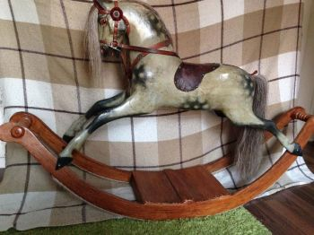FH Ayres Bow Rocking Horse Small 33in Original