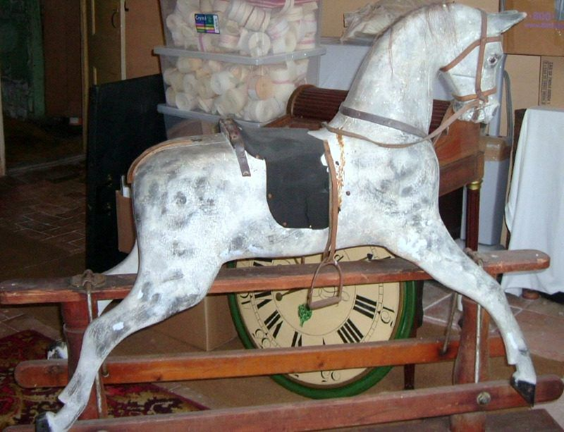 Smith Horse Needing TLC Restoration