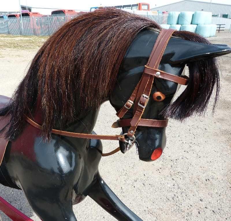 Haddon Black Beauty On Red Rocker