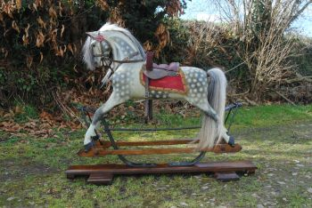 Tommy FH Ayres Spring Stand Rocking Horse RARE