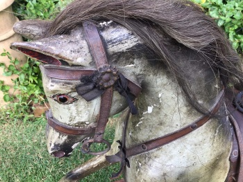 Original Features & Paint 35in Rocking Horse