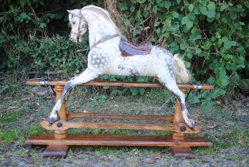 Juno Extra Carved FH Ayres Rocking Horse 37in