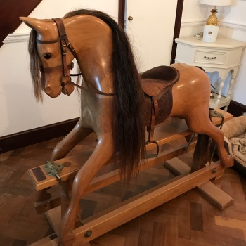 KINGS HORSES Quality Large Hand Crafted Rocking Horse 47in