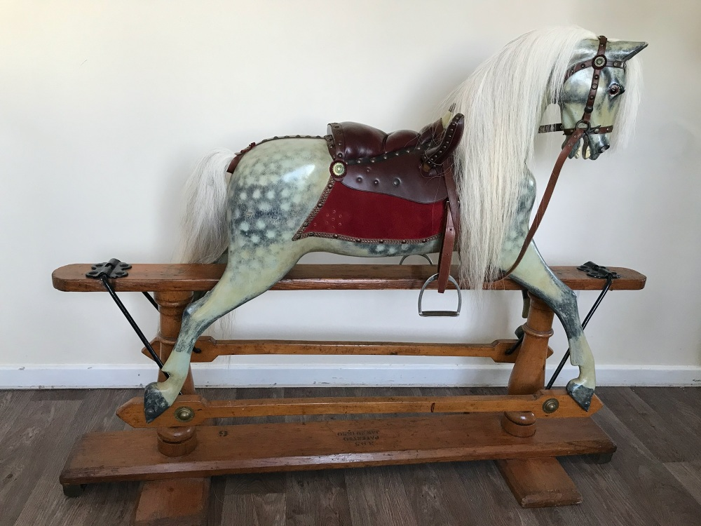 FH Ayres Rocking Horse 1880 40in