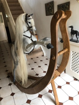 Legends Pharlap large 82in long bow rocking horse
