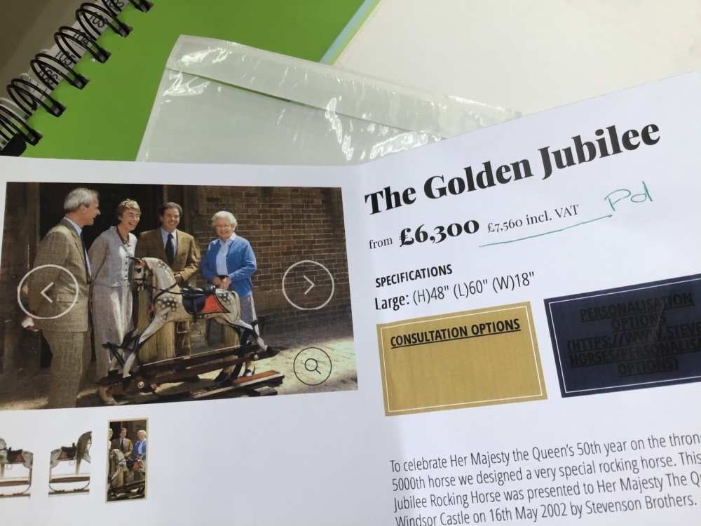 Stevenson The Golden Jubilee limited to 50 pieces