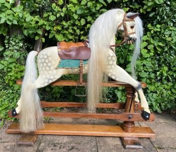 Brassington & Cooke Rocking Horse Antique c.1915 Fully  Restored 41in