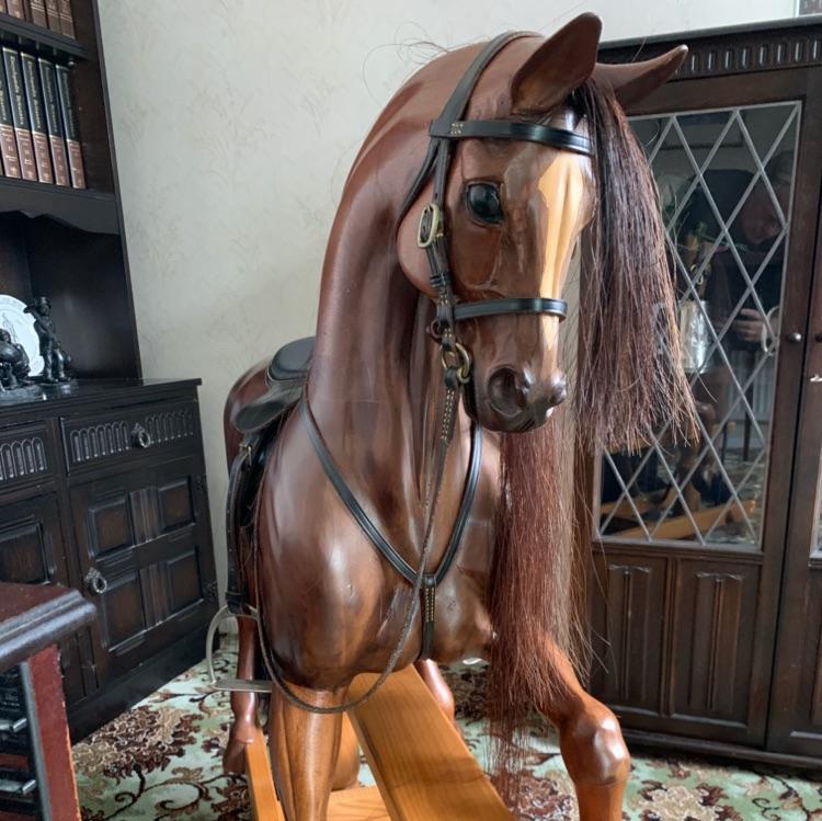 Harold Wakefield Bespoke Carved Rocking Horses