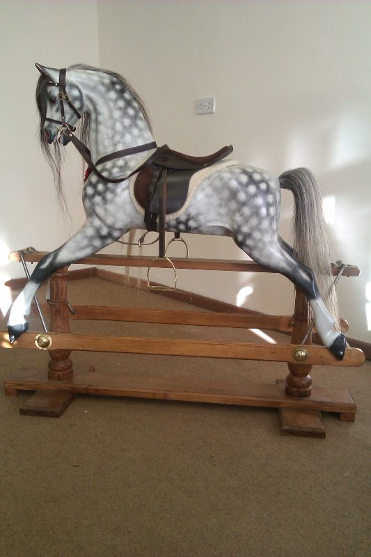 Jan Rusling Rocking Horse Extra Carved