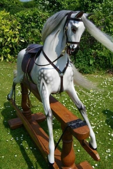 Ayres Rocking Horse Extra Carved Jackson