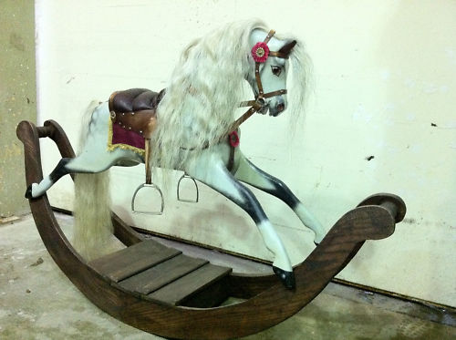 The Woman In Black 2012 bow rocking horse