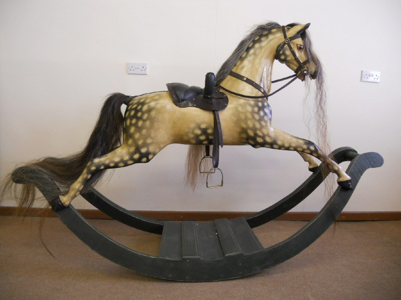 bow rocking horse restored1